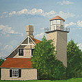 Eagle Bluff Lighthouse Wisconsin by Norm Starks