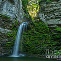 Eagle Cliff Falls by John Naegely