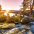 Eagle Falls Emerald Bay Lake Tahoe Sunrise First Light by Scott McGuire