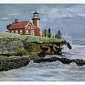 Eagle Harbor Lighthouse by Debra L Pate