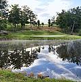 Eagle Knoll Golf Club - Hole Six by Cricket Hackmann