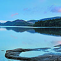 Eagle Lake Maine - Panoramic View by Thomas Schoeller