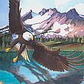 Eagle Oregon Lake by Susan McNally