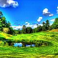 Eagle River Golf Course by Charlotte Daniels