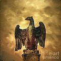 Eagle Sculpture by Bernard Jaubert