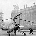 Early 20th Century Autogyro by Cci Archives