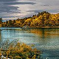Early Autumn Along The Androscoggin River by Bob Orsillo