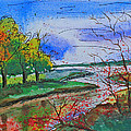 Early Autumn Landscape by Shakhenabat Kasana