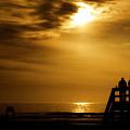 Early Beach Walk by Jim Finch