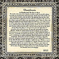 Early Gothic Style Desiderata by Desiderata Gallery