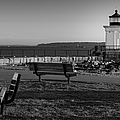 Early Morning At Bug Lighthouse Bw by Susan Candelario