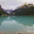 Early Morning At Lake Louise by Teresa Zieba