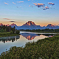 Early Morning At Oxbow Bend by Leon Roland