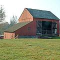 Early Morning Barn by David Nichols