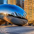 Early Morning Bean In Chicago by Lindley Johnson