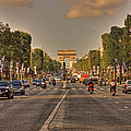 Early Morning Champes Elysees  by Hany J