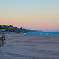 Early Morning Deserted Beach by Harold Hopkins