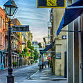 Early Morning In French Quarter Nola by Kathleen K Parker