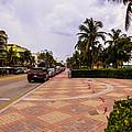 Early Morning In Miami Beach by Zina Stromberg