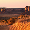 Early Morning In Monument Valley by Jane Rix