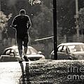 Early Morning Jog by Cheryl Baxter