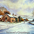 Early Morning Snow Christmas Cards by Andrew Read