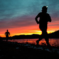 Early Morning Trail Running by Joe Klementovich