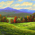 Early September Green Mountains by Frank Wilson