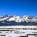 Early Spring In The Sawtooth by Robert Bales