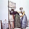 Early Victorian Peeping Women by Daniel Hagerman