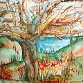 Early Winter Tree by Elaine Duras