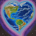 Earth Equals Heart by R Neville Johnston