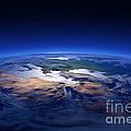 Earth - Mediterranean Countries by Johan Swanepoel