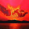 Earth Sunset by Paul Meijering
