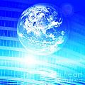 Earth Technology Background by Michal Bednarek