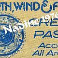 Earth Wind Fire Crew Pass 1976 by Jussta Jussta