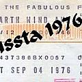 Earth Wind Fire Spirit Tour The Forum Concert Ticket by Jussta Jussta