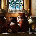 Earthenware Pots by Susie Peek