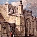 East Bergholt Church, Northside by John Constable