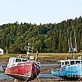 East Coast Low Tide Scene by Cheryl Baxter