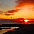 East Coast Sunrise  by Jeffrey Akerson