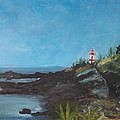 East Quoddy Head Lighthouse by Donna Walsh