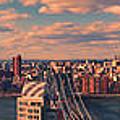 East River Bridges by S Paul Sahm