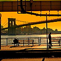 East River Sunset by Valentino Visentini