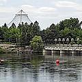 East Riverfront Park And Dam - Spokane Washington by Daniel Hagerman