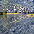 East Rosebud Lake Fall Panorama by Roger Snyder