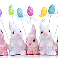 Easter bunny toys by Elena Elisseeva