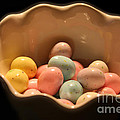 Easter Candy Malted Milk Balls I by Lesa Fine