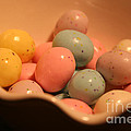 Easter Candy Malted Milk Balls II by Lesa Fine