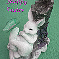 Easter Card 1 by Aimee L Maher ALM GALLERY